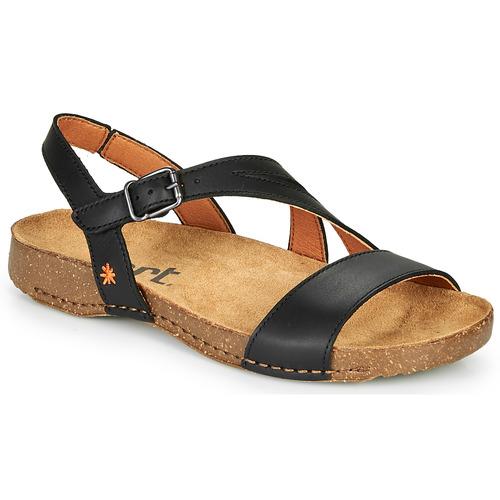 Chaussures Femme Sandales et Nu-pieds Art I BREATHE Noir
