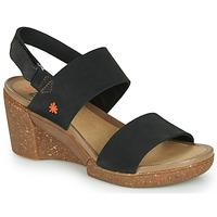 Chaussures Femme Sandales et Nu-pieds Art ROTTERDAM Noir