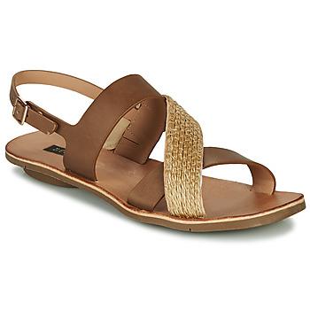 Chaussures Femme Sandales et Nu-pieds Neosens DAPHNI Marron / Beige