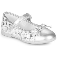 Chaussures Fille Ballerines / babies Chicco CLELIANA Argenté
