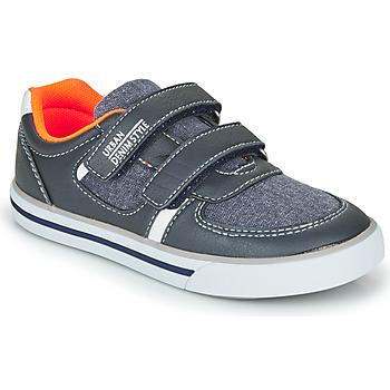 Chaussures Garçon Baskets basses Chicco FREDERIC Bleu / Orange