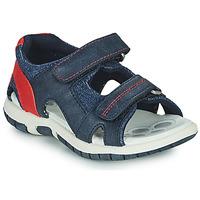 Chaussures Garçon Sandales et Nu-pieds Chicco FLORIAN Marine / Rouge
