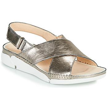 Chaussures Femme Sandales et Nu-pieds Clarks Tri Alexia Argenté