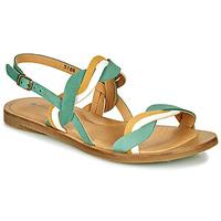 Chaussures Femme Sandales et Nu-pieds El Naturalista TULIP Vert / Jaune / Blanc