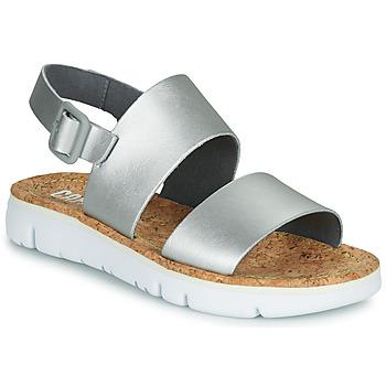 Chaussures Femme Sandales et Nu-pieds Camper Oruga Sandal Argent