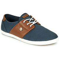 Chaussures Homme Baskets basses Faguo CYPRESS Marine / Marron
