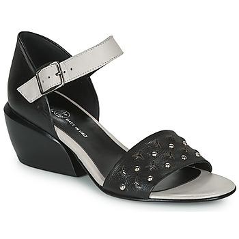 Chaussures Femme Sandales et Nu-pieds Fru.it  Noir / Blanc