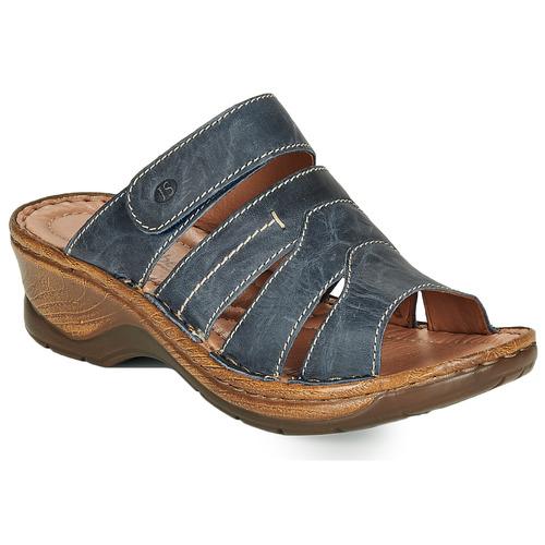 Chaussures Femme Mules Josef Seibel CATALONIA 49 Bleu