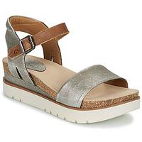Chaussures Femme Sandales et Nu-pieds Josef Seibel CLEA 01 Argenté