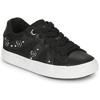 Chaussures Fille Baskets basses Geox J KILWI GIRL Noir