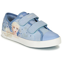 Chaussures Fille Baskets basses Geox JR CIAK GIRL Bleu