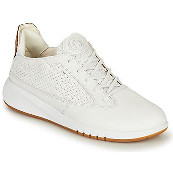 Chaussures Femme Baskets basses Geox D AERANTIS Blanc