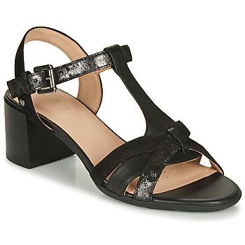 Chaussures Femme Sandales et Nu-pieds Geox D MARYKARMEN MID SAN Noir
