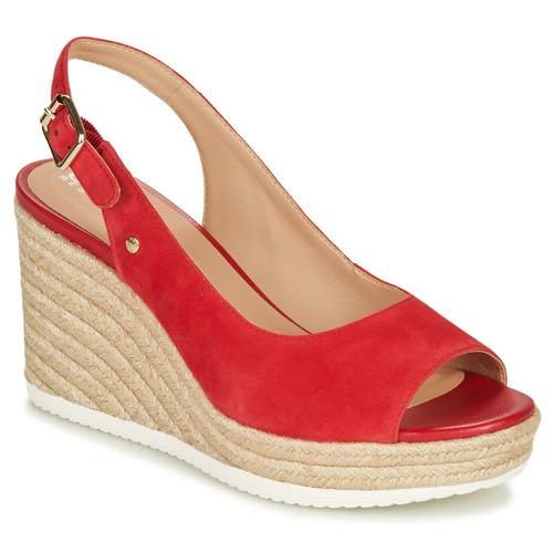 Chaussures Femme Sandales et Nu-pieds Geox D PONZA Rouge