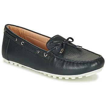 Chaussures Femme Mocassins Geox D LEELYAN Bleu marine