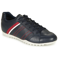Chaussures Homme Baskets basses Geox U WELLS Marine / Rouge