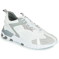 Chaussures Homme Baskets basses Geox U GRECALE Blanc / Gris