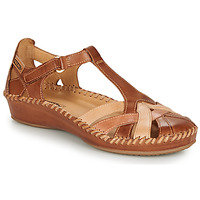 Chaussures Femme Sandales et Nu-pieds Pikolinos P. VALLARTA 655 Cognac / Camel