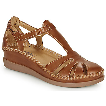 Chaussures Femme Ballerines / babies Pikolinos CADAQUES W8K Camel