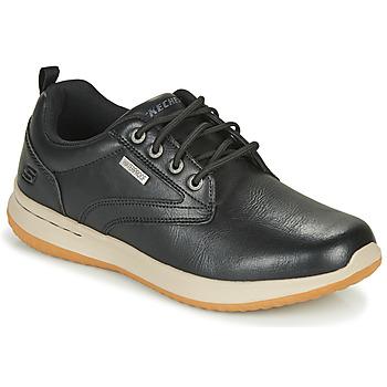Chaussures Homme Baskets basses Skechers DELSON ANTIGO Noir