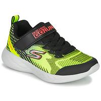 Chaussures Garçon Baskets basses Skechers GO RUN 600 Noir / Jaune