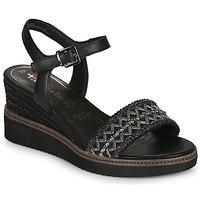 Chaussures Femme Sandales et Nu-pieds Tamaris ALIS Noir