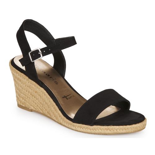 Chaussures Femme Sandales et Nu-pieds Tamaris LIVIAN Noir