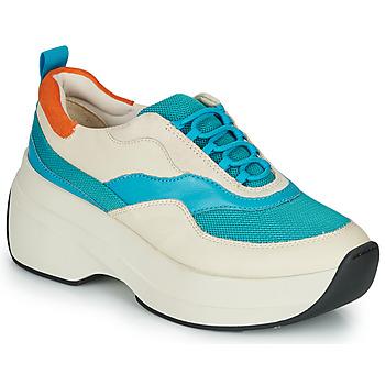 Chaussures Femme Baskets basses Vagabond Shoemakers SPRINT 2.0 Beige / Bleu