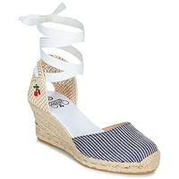 Chaussures Femme Sandales et Nu-pieds Le Temps des Cerises POLY Bleu / Blanc