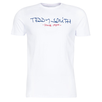 Vêtements Homme T-shirts manches courtes Teddy Smith TICLASS Blanc