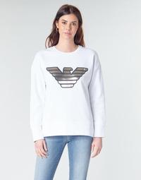 Vêtements Femme Sweats Emporio Armani DJIMMY Blanc