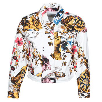Vêtements Femme Vestes en jean Desigual FANTASY Multicolore