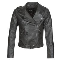 Vêtements Femme Vestes en cuir / synthétiques Desigual UTAH Noir