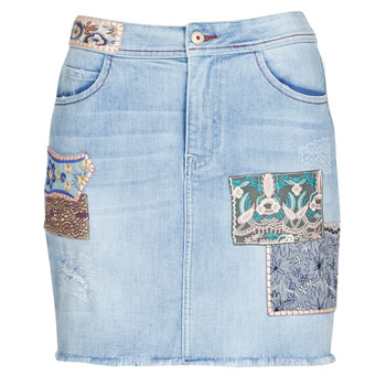 Vêtements Femme Jupes Desigual PATTY Bleu
