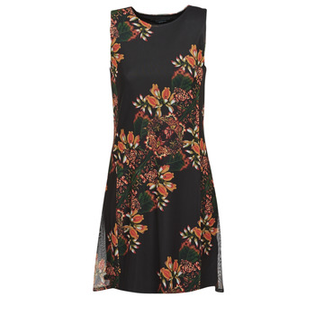 Vêtements Femme Robes courtes Desigual PAPILLON Multicolore