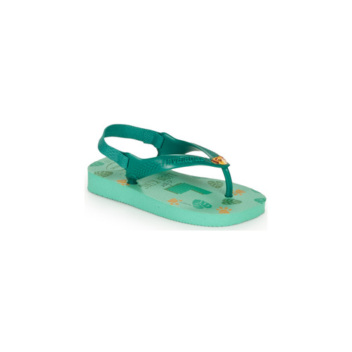 Chaussures Enfant Tongs Havaianas BABY DISNEY CLASSICS II Vert