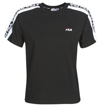 Vêtements Femme T-shirts manches courtes Fila TANDY Noir