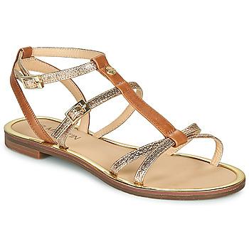 Chaussures Femme Sandales et Nu-pieds JB Martin 1GRIOTTES Marron / Doré