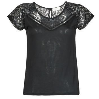 Vêtements Femme T-shirts manches courtes Deeluxe CLEA Noir