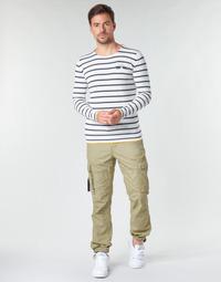 Vêtements Homme Pantalons cargo Deeluxe TROPERY Kaki