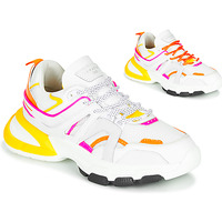 Chaussures Femme Baskets basses Serafini STELLA Blanc / Orange / Jaune