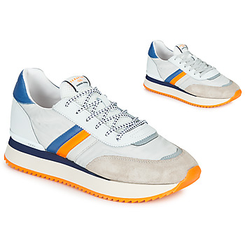 Chaussures Homme Baskets basses Serafini TORINO Blanc / Gris / Orange