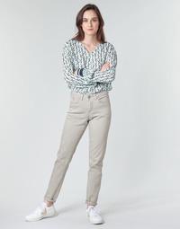 Vêtements Femme Pantalons 5 poches Cream ANNIE Gris