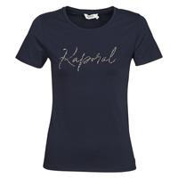 Vêtements Femme T-shirts manches courtes Kaporal RAXI Marine