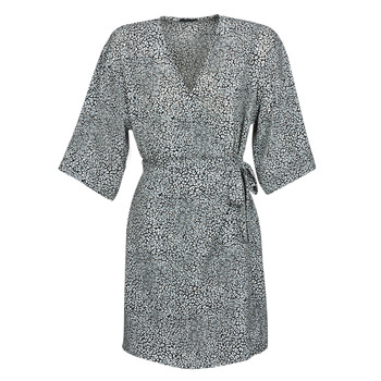 Vêtements Femme Robes courtes Ikks BQ30415-03 Noir / Blanc
