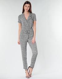 Vêtements Femme Combinaisons / Salopettes Ikks BQ32045-03 Noir / Blanc