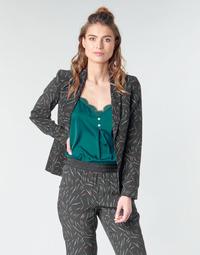 Vêtements Femme Vestes / Blazers One Step FQ40091-02 Noir