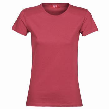 Vêtements Femme T-shirts manches courtes BOTD MATILDA Bordeaux