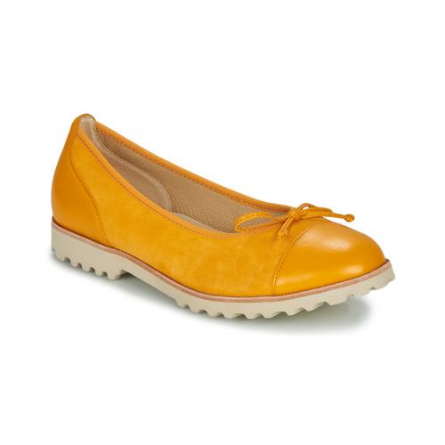 Chaussures Femme Ballerines / babies Gabor  Jaune
