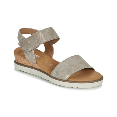 Chaussures Femme Sandales et Nu-pieds Gabor KARIBITOU Doré